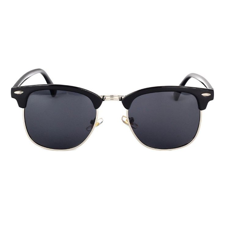 Rimless Clubmaster Glasses : 25+ best ideas about Clubmaster sunglasses on Pinterest ...
