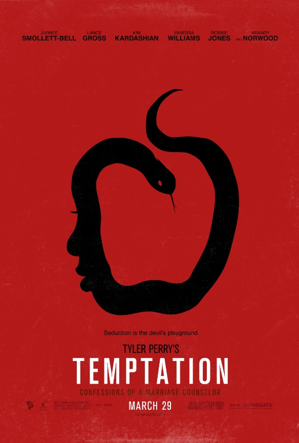 Enter Temptation with New Poster for Tyler Perry's Upcoming Drama on http://www.shockya.com/news
