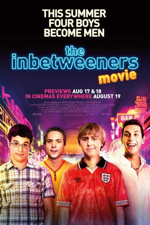 The Inbetweeners Movie 27x40 Movie Poster (2011)