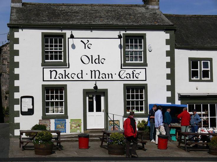 Ye Olde Naked Man Cafe - Settle, Yorkshire