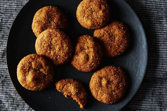 Adapted from Chewy Gooey Crispy Crunchy Melt-in-Your-Mouth Cookies   (Artisan, 2010)