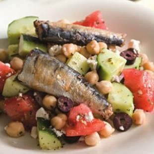 """Sardines are """"health food in a can."""" They are high in omega-3's, contain virtually no mercury and are loaded with calcium. They also contain iron, magnesium, phosphorus, potassium, zinc, copper and manganese as well as a full complement of B vitamins."""