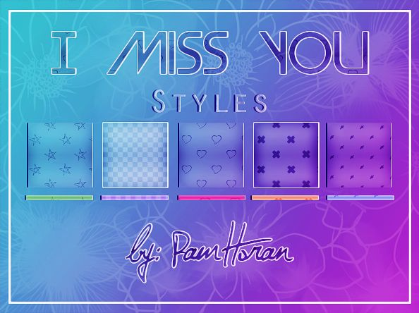 Styles / I Miss You by PamHoran on DeviantArt