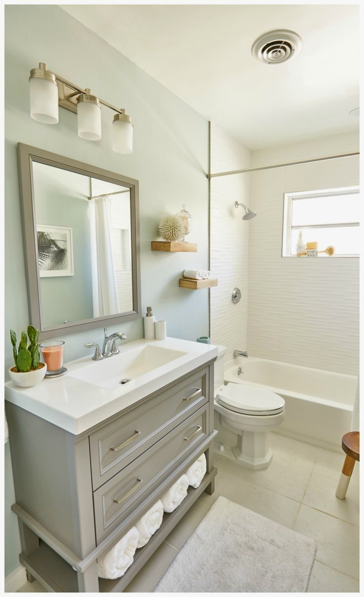 8 Ways To Make A Small Bathroom Look Bigger With Images Small