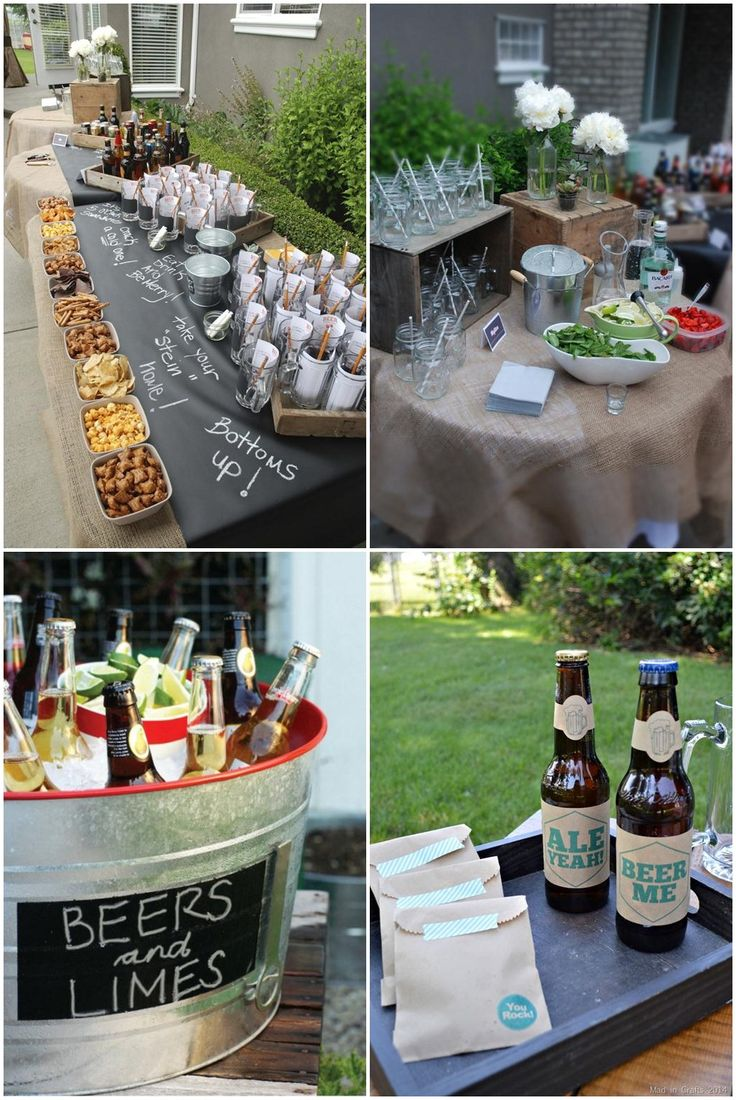 Outdoor Beer Tasting Party Ideas