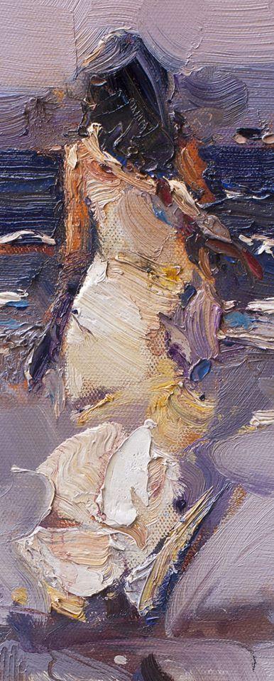 Stojan Milanov, 1963   Abstract/Impressionist painter   Tutt'Art@   Pittura * Scultura * Poesia * Musica   Great brush/palette knife work.