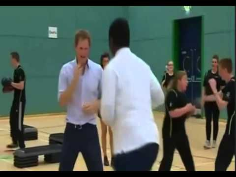 The Two Princes Joined  Sport with Teen
