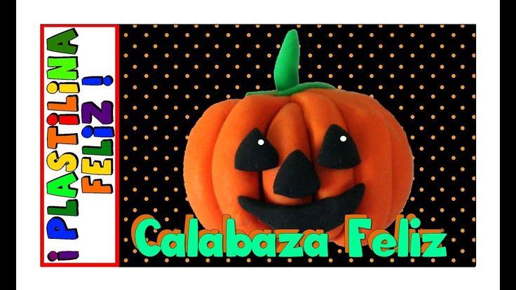 En este video aprenderás paso a paso como hacer una calabaza de plastilina para halloween. Disfruta tu halloween con plastilina con esta calabaza de halloween  en play doh, porcelanicron, fimo o porcelana fría