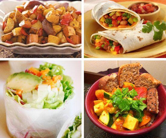 gezonde vegetarische lunch