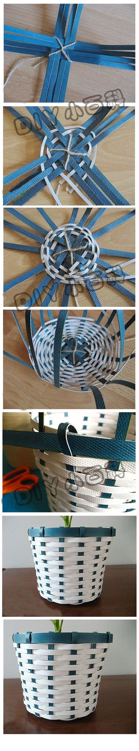 Weave a basket for my balls of yarn and extra cloth.