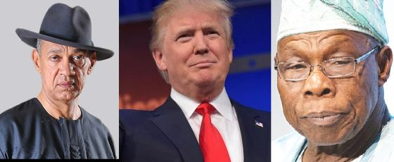 They have insatiable taste for women and beautiful ones at that! - Ben Bruce compares Donald Trump to Obansanjo
