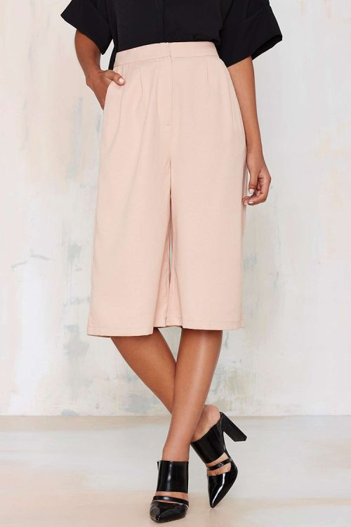 what to wear // culottes