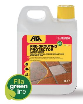 Protecting limestone during installation with FILAPRW20