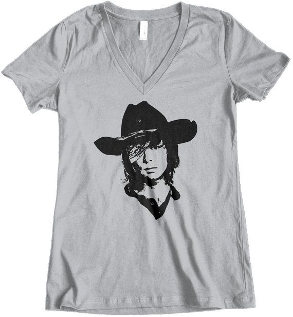 Womens t shirt, tee shirt, The Walking Dead, Custom Printed Tee, TWD, Carl Grimes