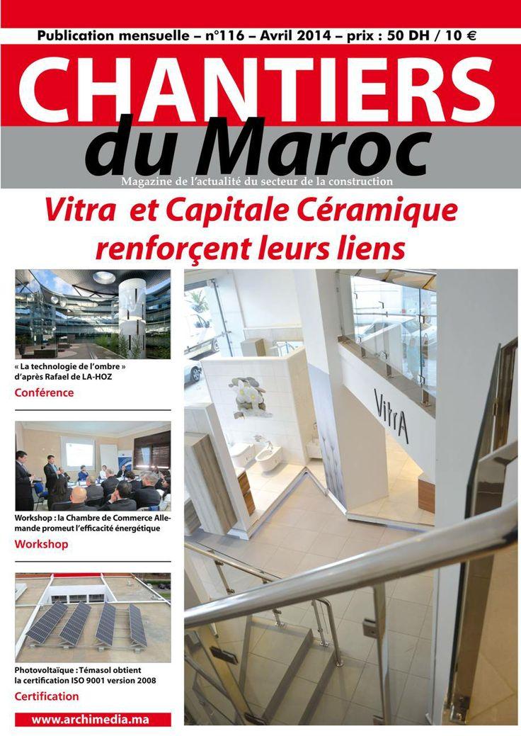 Chantiers du Maroc / Magazine de l'actualité du secteur de la construction au Maroc
