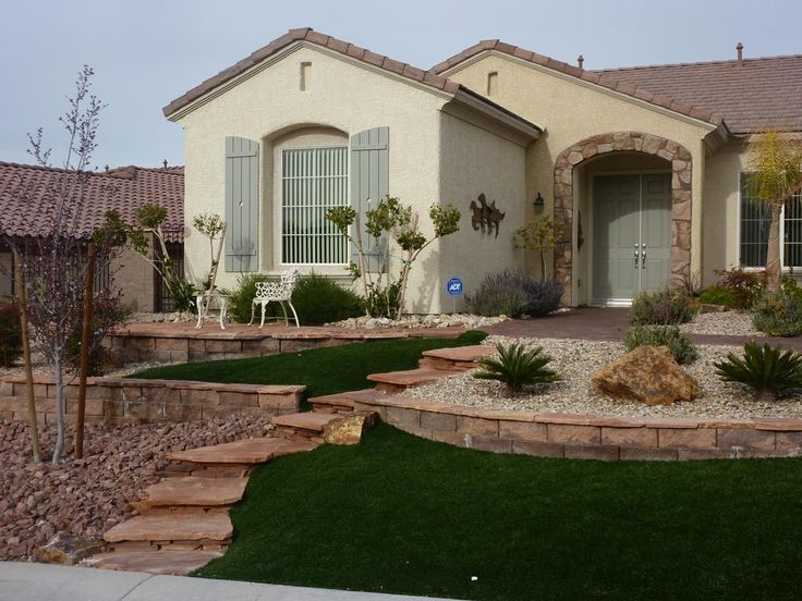 Xeriscape Water Smart Landscape Las Vegas provided by Desert Greenscapes Water Wise Grass and Landscaping Las Vegas 89108