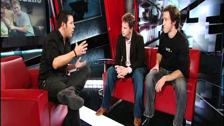 Craig and Marc Kielburger on CBC's The Hour