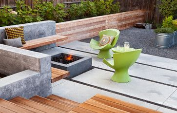 Gathering Table contemporary-patio