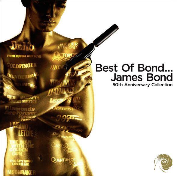 The Best Of James Bond 50th anniversary  #christmas #gift #ideas #present #stocking #santa #music #Island #records #reggae