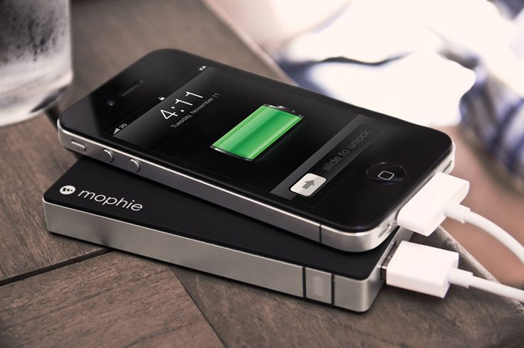 A really strong portable battery that charges all USB-powered devices. Great for travel.
