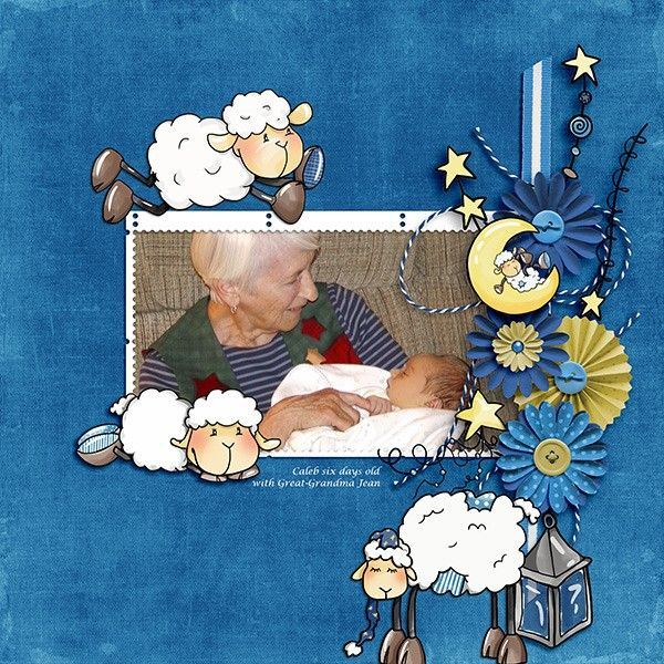 Oscraps.com :: Shop by Category :: All New :: SoMa Design: Bedtime Stories - Cards