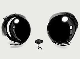 Image result for panda eyes drawn cute