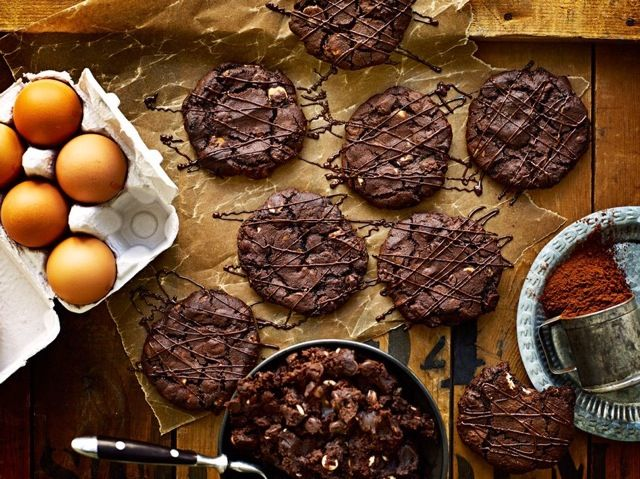 TRIPLE CHOCOLATE CHIP COOKIES — Roy Fares