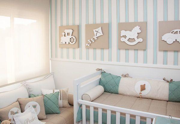 Ideias para quarto de bebê menino | Blog Como Le Gusta