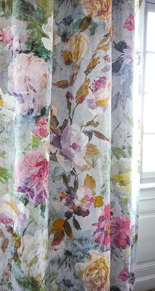 Interior Design Fabrics best 25+ floral curtains ideas on pinterest | printed curtains