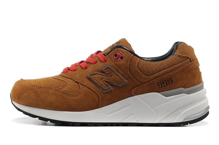 New Balance 999 Men's Comfortable Platforms Sneakers Suede Brown Running Shoes ML999GM
