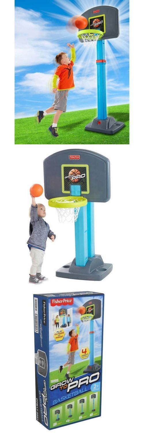 Other Outdoor Toys Structures 11742: Fisher Price Grow To Pro Basketball Set Kid Indoor Outdoor Ages 24Mths - 5 Years -> BUY IT NOW ONLY: $41.26 on eBay!