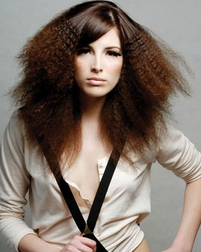 Crimping Hair: The hottest trend of today. You can check many different crimping hairstyles and read the article in the page.
