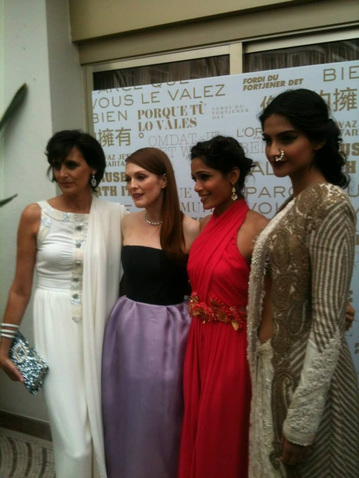 L'Oréal Paris brand ambassadors at Cannes Film Festival 2013