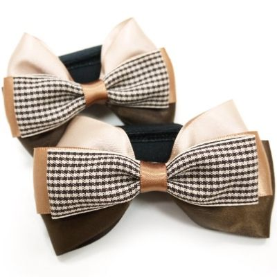 Gentleman Dog Collar / Harness Bow - $16.00