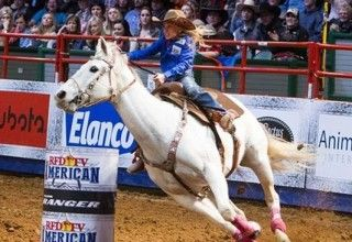 Chayni Chamberlain Becomes Barrel Racing Legend At Age 9