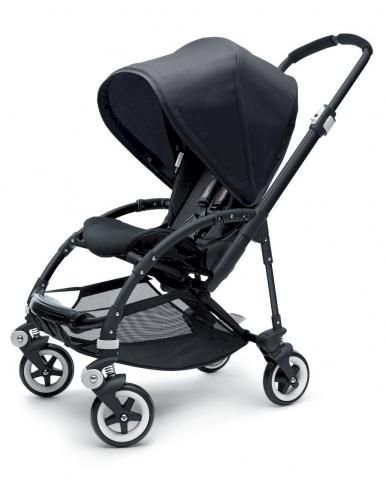 BUGABOO Прогулочная коляска Bee + ALL BLACK Special edition
