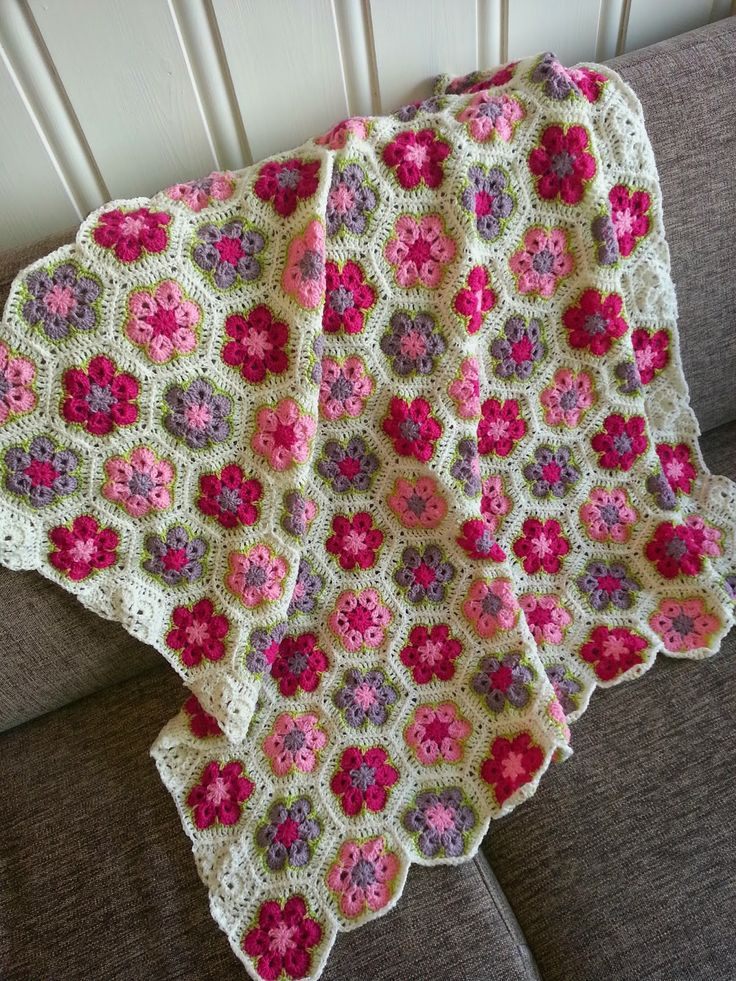 17 best images about CROCHET - AFRICAN FLOWER on Pinterest ...