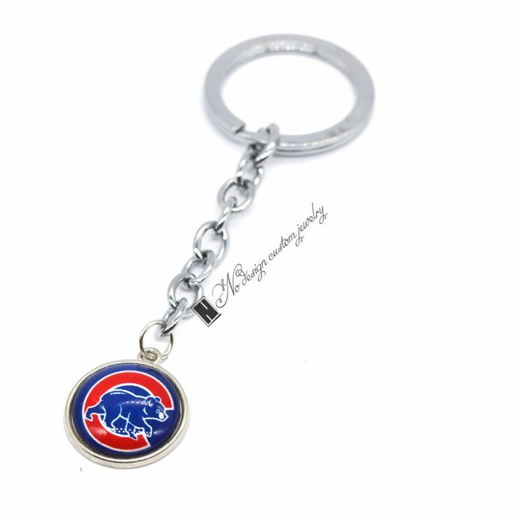 [50% OFF] EXCLUSIVE CHICAGO CUBS KEYCHAIN - FREE SHIPPING