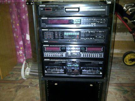 1980s kenwood stereo componant system kenwood component. Black Bedroom Furniture Sets. Home Design Ideas