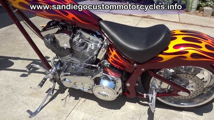 CUSTOM CHOPPER FOR SALE American Ironhorse - Now SOLD - - YouTube