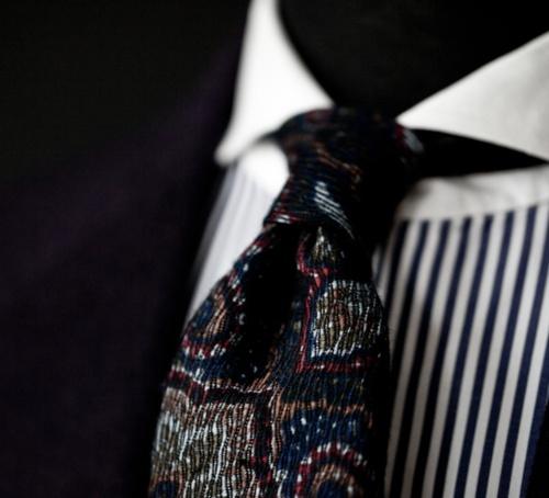 Bespoke Tie by Manolo Costa