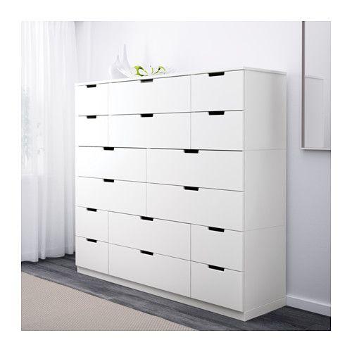 NORDLI Cómoda 16 cajones - IKEA