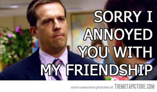 When no one texts me back…