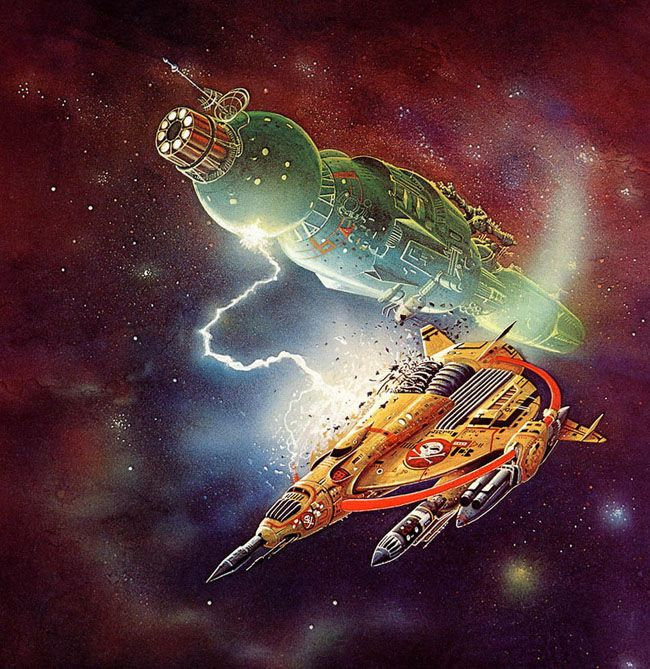 70s Sci Fi Art Chris Foss: 17 Best Images About Spacecraft And SciFi Artwork On
