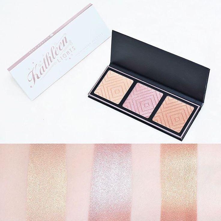 Show off those cheek bones in a good light with the #MakeupGeekxKathleenLights Highlighter Palette. @beautycloudnl