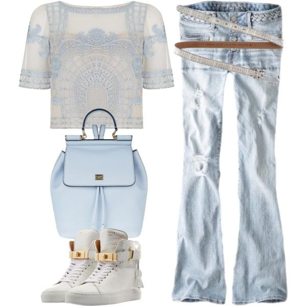... by r-dereli on Polyvore featuring polyvore, fashion, style, Temperley London, American Eagle Outfitters, BUSCEMI, Dolce