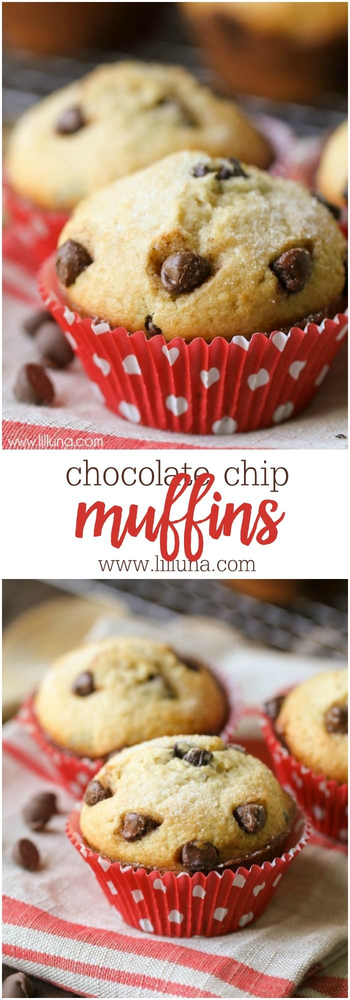 chocolate chip muffins recipe chocolate chips. Black Bedroom Furniture Sets. Home Design Ideas