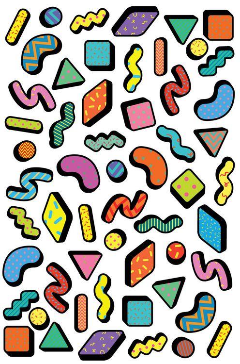 Saskia Pomeroy, art, design, colorful graphic, pattern