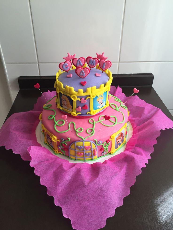 #Princess #cake #fondant #HappyBirthday!!!!