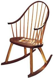 Thos. Moser continuous arm rocking chair